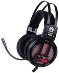 Marvo HG9028, fekete/piros (HG9028)