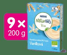 Nestlé Naturnes BIO Nemléčná kaše Vanilková 9x200g