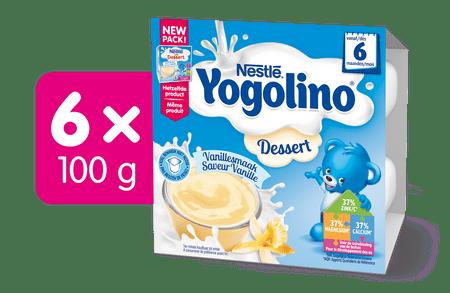 Nestlé Yogolino Vanilka - 6x (4x100g)