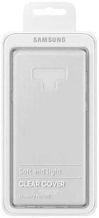 SAMSUNG Clear Cover Galaxy S9, átlátszó EF-QG960TTEGWW