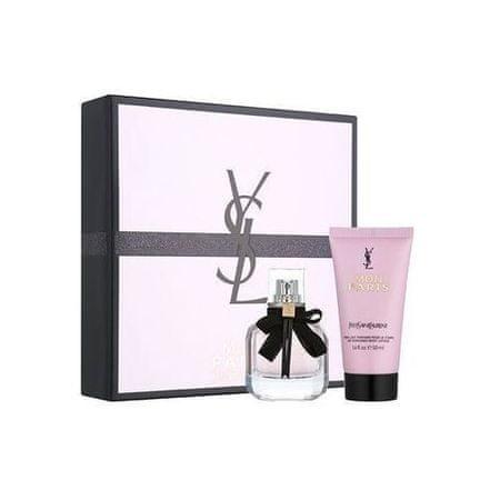 Yves Saint Laurent Mon Paris - EDP 50 ml + testápoló 50 ml