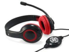 Conceptronic profesionalne USB slušalice, CCHATSTARU2R