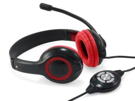 Conceptronic profesionalne USB slušalke, CCHATSTARU2R
