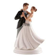Dekora Svatební figurka na dort 20cm první tanec