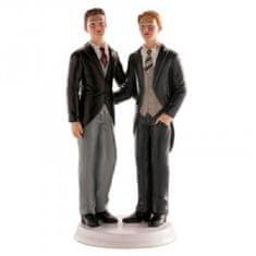 Dekora Svatební figurka na dort pro Gay pár