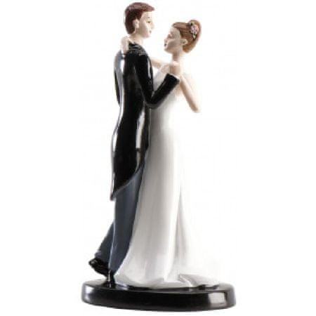 Dekora Svatební figurka na dort tanec 16cm
