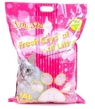 Crystal Litter pesek za mačje stranišče, 16 l