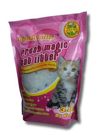 Crystal Litter pesek za mačje stranišče Crystal Litter Cat, 3,8 l