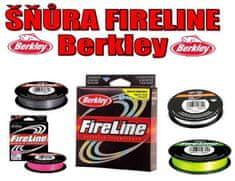 Berkley Rybářská pletená šňůra Berkley Fireline - červená