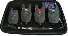 Zico Sada signalizátorů UNICARP II (3 indik.+1 příjm.+kufřík)