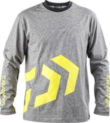 Daiwa Daiwa D-Vec T-Shirt LS grey/yellow