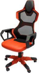 E-Blue fotel gamingowy Cobra Air, czerwony (EEC307REAA-IA)