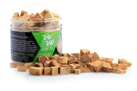RAW RAW priboljški, zamrznjeni, sušeni - Jagnječja jetra, 60 g