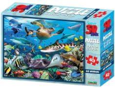 Lamps 3D Puzzle Podmořský svět 63 dílků