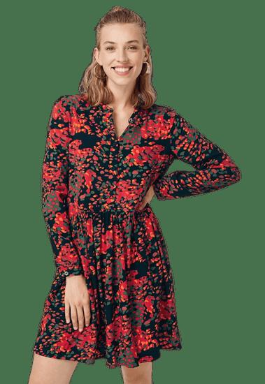 Q/S designed by dámské šaty 41.909.82.2623 34 červená