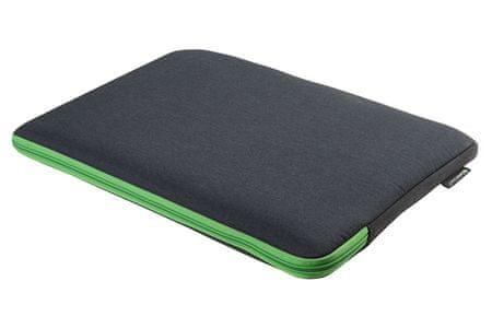 """Gecko Universal Zipper sleeve torba za prijenosno računalo, 15"""", tamno siva"""