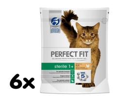 Perfect fit karma dla kotów Sterile z kurczakiem, 6 x 750 g