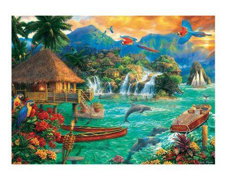 Trefl Puzzle 3000 db Island Life