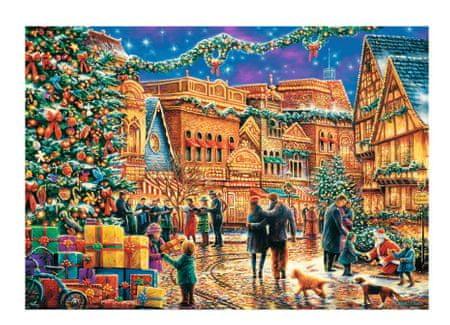 Trefl Puzzle 1000 db Christmas Market