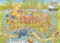 Heye Puzzle 1000 dílků Marino Degano - Australian Habitat