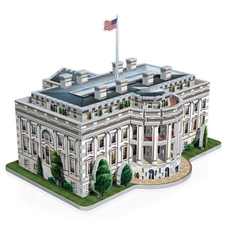 Wrebbit Biely dom, Washington 3D 490 dielikov