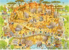 Heye Degano: Afrika 1000 dielikov