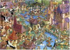 Heye Puzzle 1000 db Jigsaw Puzzle - 1000 db - Ruyer : Bunnytown