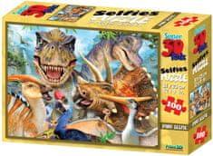 Lamps 3D Puzzle Dino selfie 100 dílků