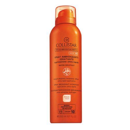 Collistar Sprej za sončenjeSPF 10 (Moisturizing Tanning Spray) 200 ml