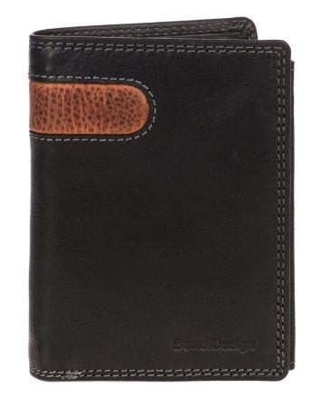 Sendi Design pánská peněženka D-306 COW černá