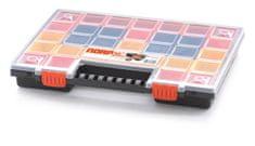 Prosperplast Plastový organizér 32 barevných přihrádek NORP 399x303x50