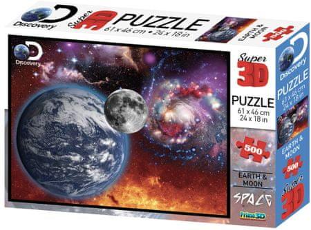 Lamps sestavljanka 3D Puzzle Vesolje, 500 delov