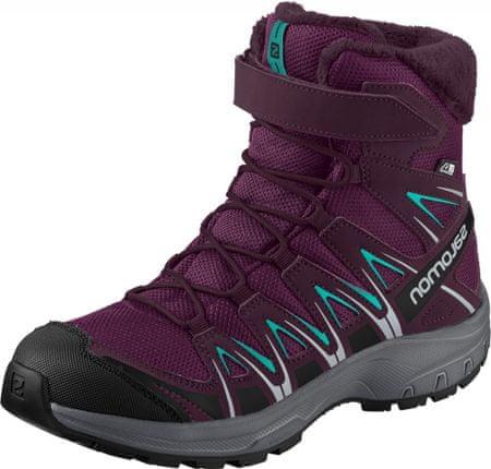 buty zimowe dziewczęce salomon