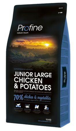 Profine Junior Large Breed Chicken & Potatoes 15 kg