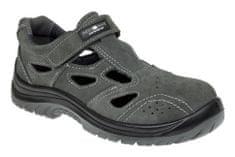 Adamant Pracovní sandály Taylor O1 šedá 36