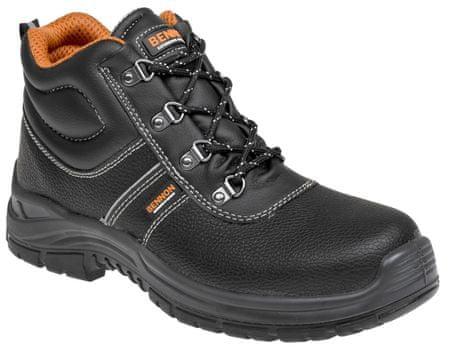 Bennon Bezpečnostní kotníková obuv Basic S3 černá 46