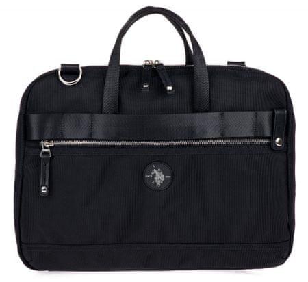 U.S. POLO ASSN. Waganer Business Bag fekete férfi táska
