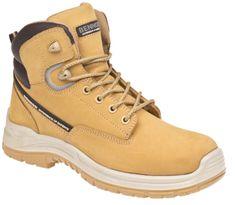 Bennon Kotníková kožená obuv Ranger O2 High žlutá 42