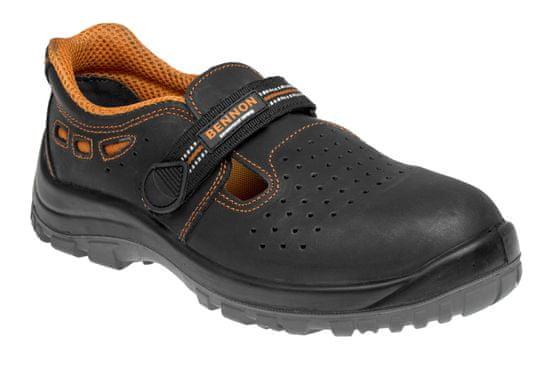 Bennon Bezpečnostní sandály Lux S1 černá 43