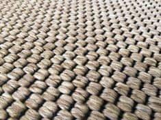 Vopi AKCE: 100x400 cm Metrážový koberec Nature světle béžový (Rozměr metrážního koberce Rozměr na míru bez obšití)