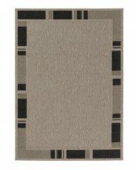 Astra - Golze Kusový koberec Andria 171004 Border Silver/Black