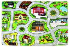 Protiskluzový kusový koberec Silnice
