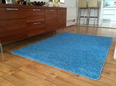 Vopi Kusový koberec Color shaggy modrý