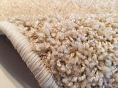 Vopi Kusový koberec Color shaggy béžový ovál