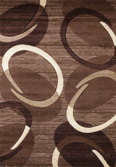 Spoltex Kusový koberec Florida brown 9828 80x150