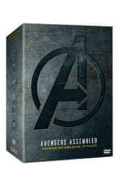 Avengers - kolekce 1.-4. (4x DVD) - DVD