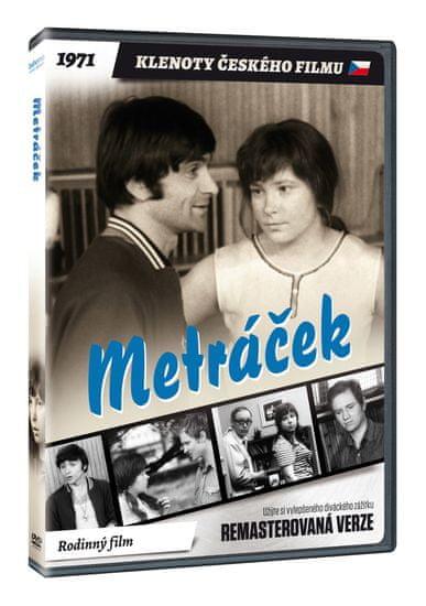 Metráček - edice KLENOTY ČESKÉHO FILMU (remasterovaná verze) - DVD