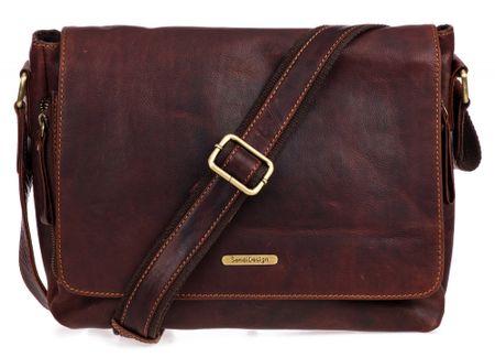Sendi Design SD-001 moška torba, univerzalna velikost, rjava
