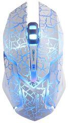 E-Blue Auroza Gaming, biela (EMS639WHCZ-IU)