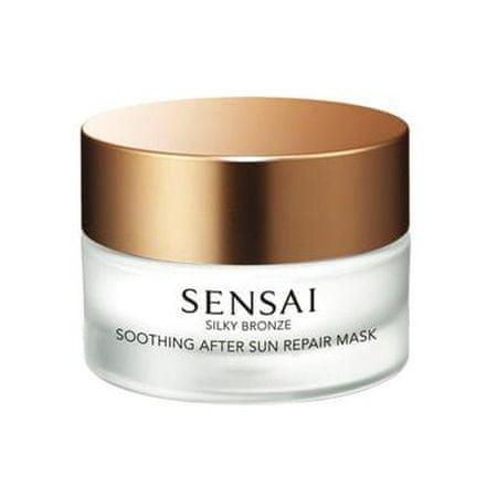 Sensai Simítása arc maszk napozás után Silk y Bronze ( After Sun Repair Mask) 60 ml